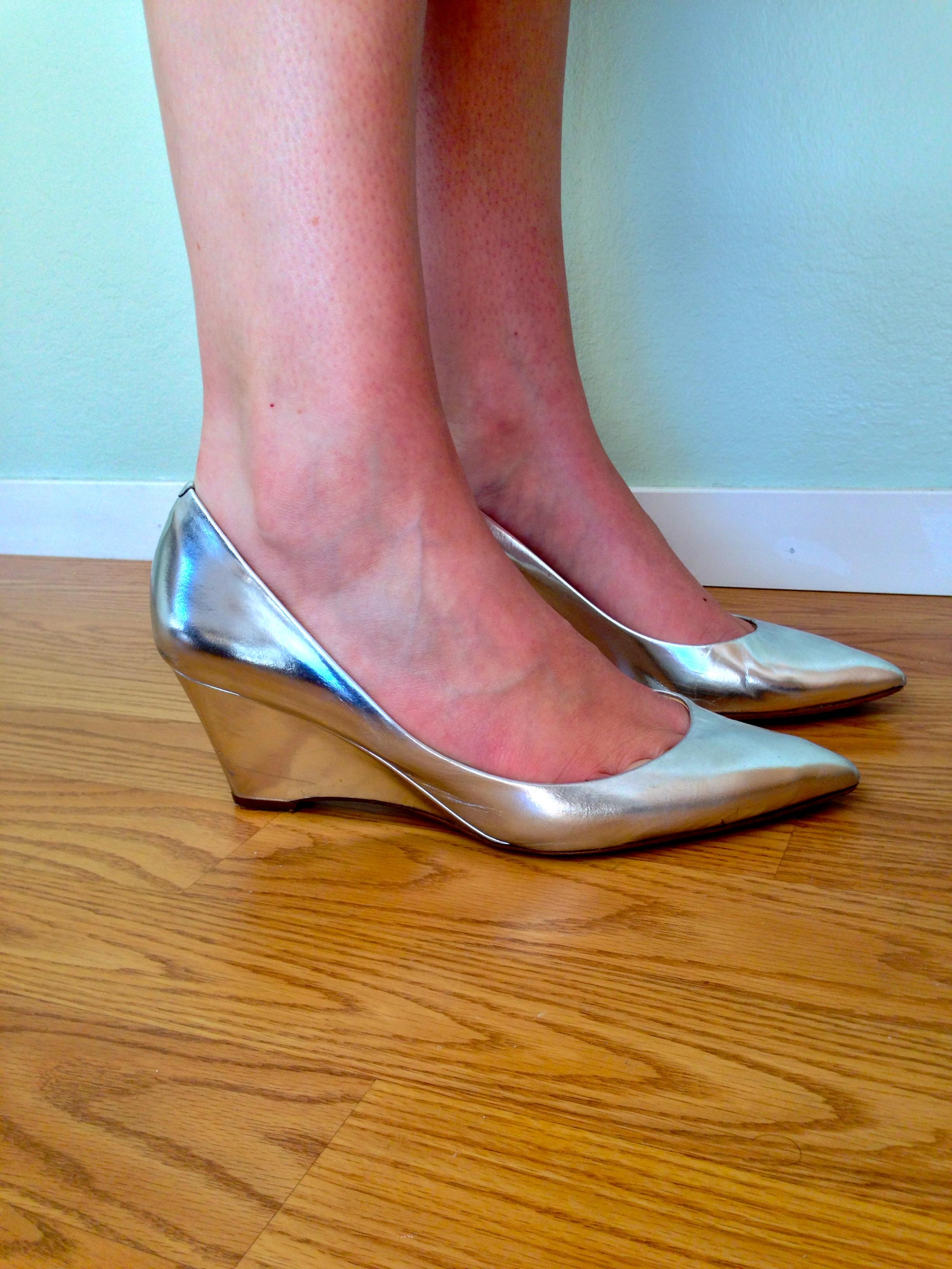 J Silver Heels