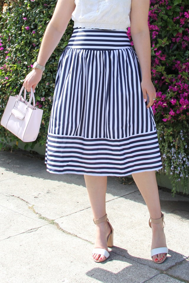 stripes skirt 2